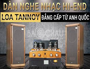 Cận Cảnh Dàn Nghe Nhạc Hi-End 250tr: Loa Tannoy Stirling GR, Amply đèn Unison, Đầu Unico CD Primo