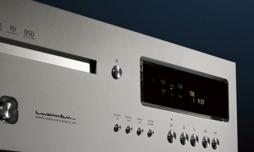 Luxman D-10X, đầu đọc đỉnh nhất, gom nhiều công nghệ đầu tiên trên thế giới