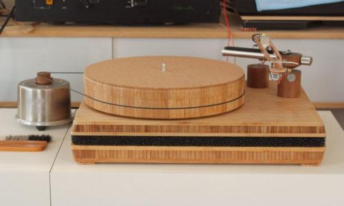 Đầu đĩa than bằng dụng cụ bếp của IKEA