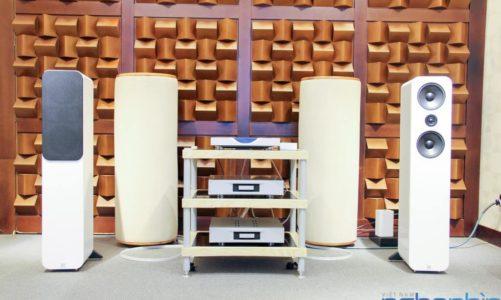 Loa Q Acoustics 3050 vỏ sơn mài giá hấp dẫn