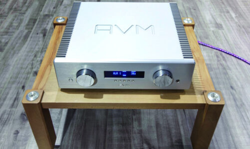Ovation A 6.2 – ampli tích hợp đầu bảng của AVM Audio