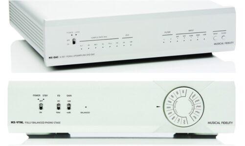 Musical Fidelity MX-DAC & MX-VYNL: Nguồn phát lý tưởng cho hệ thống tầm trung