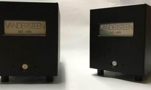 Vandersteen ra mắt bộ Amply công suất mới mang tên M5 – HPA