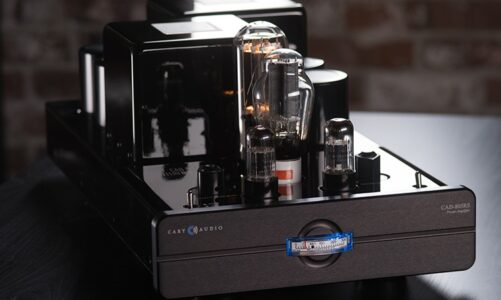 CARY AUDIO ra mắt bộ monoblocks CAD-805 phiên bản Reference Series (RS), công suất đầu ra lên đến 50W