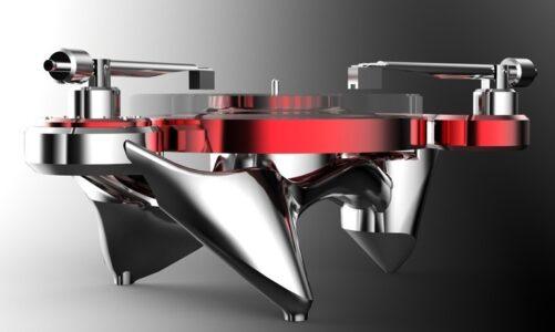 Metaxas & Sins Phonographic Perabulator: đầu quay đĩa than hầm hố giá 35.000 USD