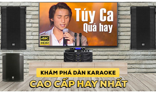 Chiêm ngưỡng bộ dàn karaoke cao cấp chuyên nghiệp hay nhất hiện nay