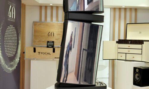 Focal Utolpa III Scala 40th – sơn bạc đen đặc biệt, sản xuất giới hạn chỉ 4 cặp