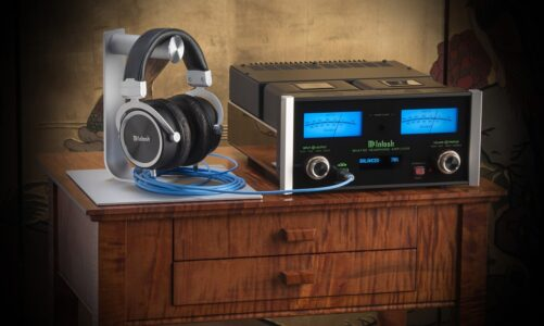 McIntosh MHA150 – Ampli headphone xuất âm bằng biến thế, tích hợp DAC hi-end