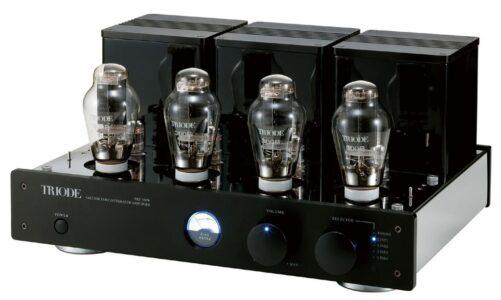 Triode ra mắt ampli thế hệ mới TRZ-300W dùng 4 bóng 300B, công suất 20W