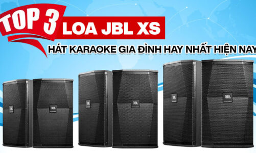 Top 3 Loa JBL XS hát karaoke gia đình hay không thể bỏ qua