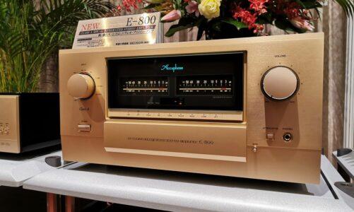 Ảnh thực tế đầu tiên của E-800, ampli Class A kỷ niệm 50 năm