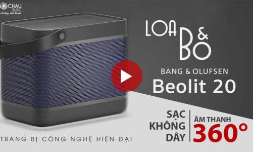Loa B&O Beolit 20 Chính Hãng, Loa công nghệ đẳng cấp, sang trọng, thời trang