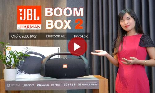 Bùng nổ với Loa JBL Boombox 2 – Âm Thanh Chân Thực, Sống Động, Pin 24h, Chống nước