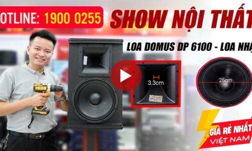Show nội thất Loa Domus DP 6100 Nhật, bass 25 bán chạy nhất hiện nay