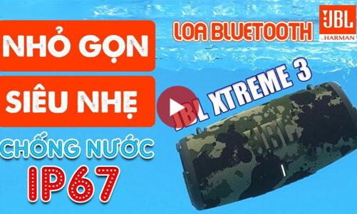 Loa JBL Xtreme 3 mới nhất 2021, Bass uy lực – Pin 15h, Chống nước IP67