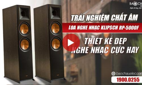 Loa Klipsch RP 5000F Chính Hãng, Loa cột nghe nhạc hay, Giá Rẻ Nhất Việt Nam