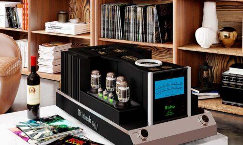 McIntosh MC901 – Monoblock chạy hai mạch công suất đèn và bán dẫn, tích hợp phân tần