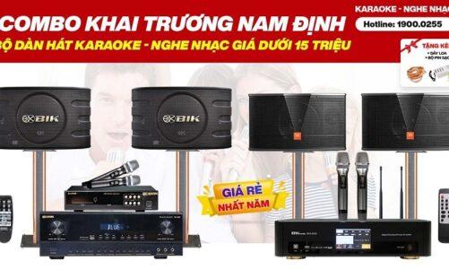 Combo karaoke Khai Trương Nam Định giá dưới 15 triệu, hát karaoke, nghe nhạc cực đỉnh, Quà To