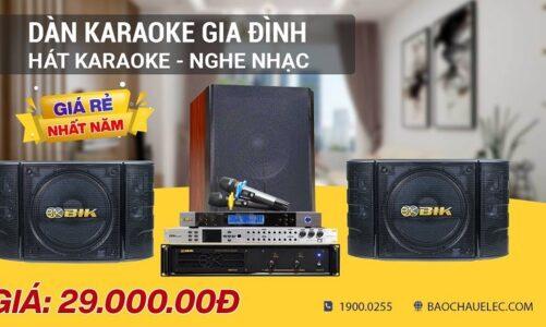 Test bộ Dàn Karaoke Gia đình dưới 30 Triệu Với âm Thanh đầy Chất Lượng