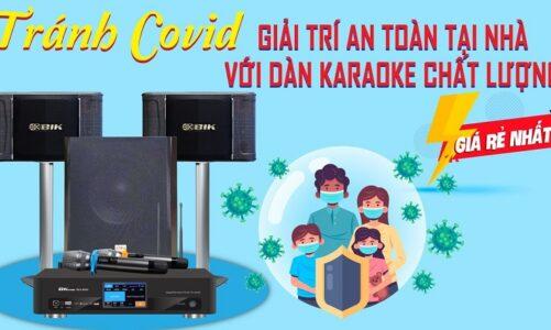 Tránh dịch covid- Giải trí an toàn tại nhà với dàn karaoke chất lượng giá rẻ – Dàn karaoke BIK 20