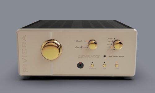 Riviera LEVANTE – Ampli tích hợp 2 chế độ Class A 30W và Class AB 120W, chơi được hai dòng lo