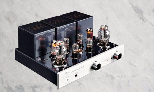 Cayin ra mắt ampli CS-300A giá trăm triệu, dễ chơi, công suất 8W, chạy bóng 300B